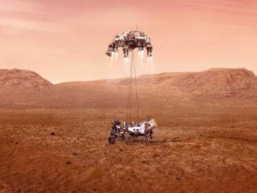 Perseverance. By NASA.